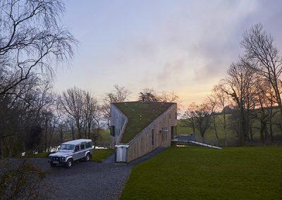 The Green House, Chevithorne Barton, Tiverton, United Kingdom. Architect: David Sheppard Architects, 2018.